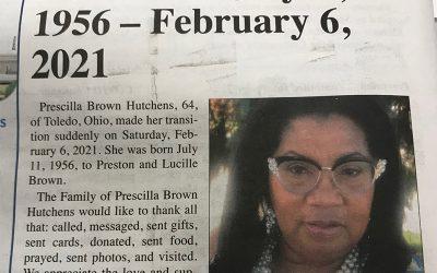 Prescilla Brown Hutchens