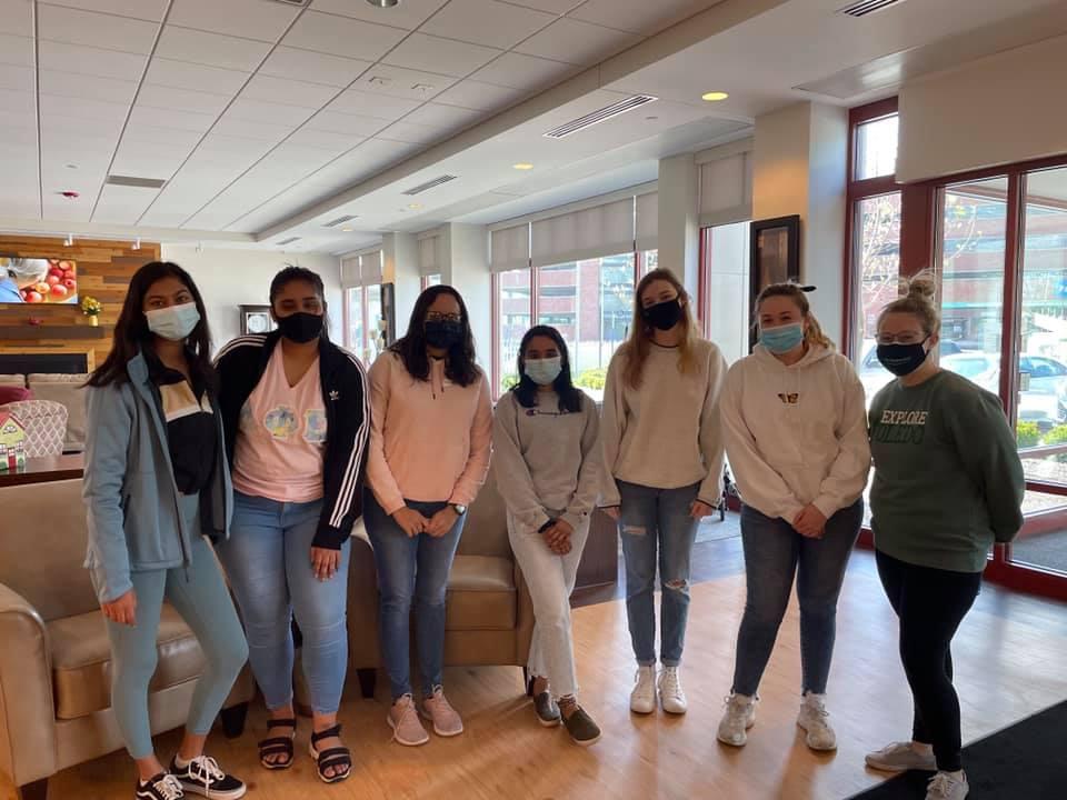 University of Toledo students